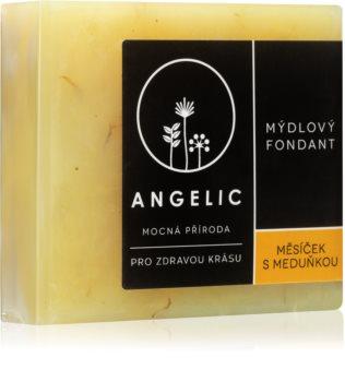 Angelic Calendula & Melissa extra jemné přírodní mýdlo