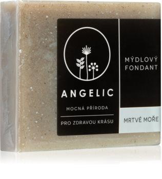 Angelic Dead Sea extra jemné přírodní mýdlo s minerály z Mrtvého moře
