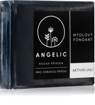 Angelic Active Charcoal Detoxifying Soap with activated charcoal