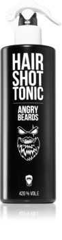 Angry Beards Hair Shot Tonic čisticí tonikum na vlasy