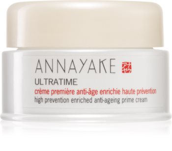 Annayake Ultratime High Prevention Enriched Anti-ageing Prime Cream krem przeciw starzeniu się skóry do skóry suchej i bardzo suchej