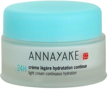 Annayake 24H Hydration Light Cream Continuous Hydration crème légère pour un effet naturel