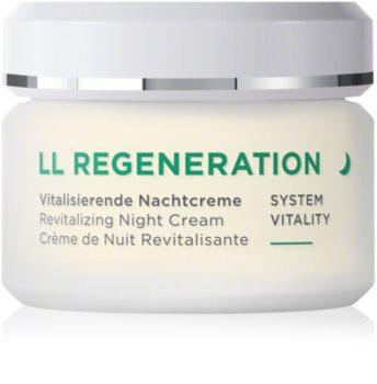 ANNEMARIE BÖRLIND LL Regeneration регенериращ нощен крем за суха кожа