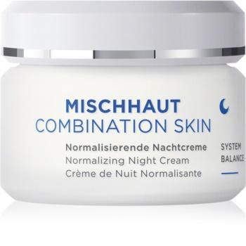 ANNEMARIE BÖRLIND MISCHHAUT nočna krema za normalizacijo kože