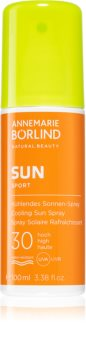 Annemarie Börlind  Sun Sport spray ochronny do opalania z efektem chłodzącym