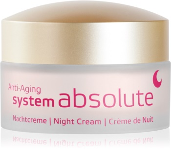 ANNEMARIE BÖRLIND System Absolute - System Anti - Aging nočna regeneracijska krema proti znakom staranja