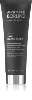 ANNEMARIE BÖRLIND Beauty Masks maska 2 w 1 do skóry tłustej i mieszanej