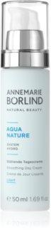 ANNEMARIE BÖRLIND AquaNature - System Hydro лек дневен крем с изглаждащ ефект