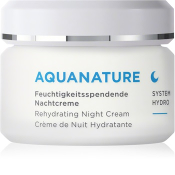 ANNEMARIE BÖRLIND AQUANATURE hidratantna noćna krema
