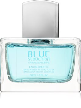 Antonio Banderas Blue Seduction for Her Eau de Toilette für Damen