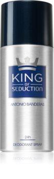 Antonio Banderas King of Seduction déodorant en spray pour homme