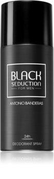 Antonio Banderas Black Seduction deodorante spray per uomo