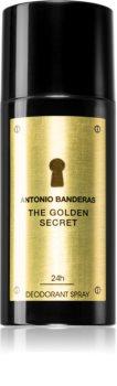 Antonio Banderas The Golden Secret deospray per uomo