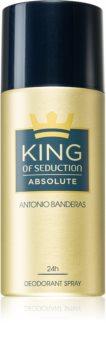 Antonio Banderas King of Seduction Absolute Spray deodorant til mænd