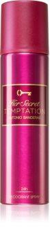 Antonio Banderas Her Secret Temptation déodorant en spray pour femme