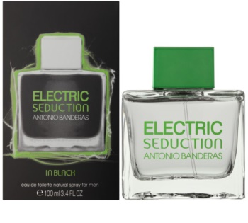 Antonio Banderas Electric Seduction In Black eau de toilette para hombre