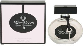 Antonio Banderas Her Secret eau de toilette para mujer