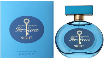 Antonio Banderas Her Secret Night eau de toilette pour femme