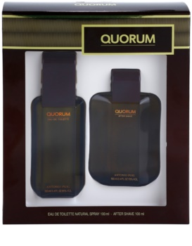 Antonio Puig Quorum coffret cadeau I. pour homme