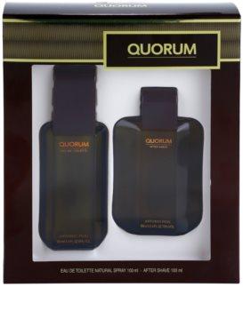 Antonio Puig Quorum zestaw upominkowy I. dla mężczyzn