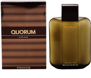 Antonio Puig Quorum after shave para homens
