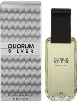 Antonio Puig Quorum Silver Eau de Toilette voor Mannen