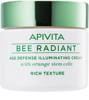 Apivita Bee Radiant Uppljusande kräm med effekt mot åldrande