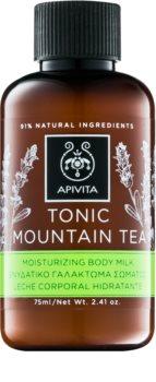 Apivita Body Tonic Bergamot & Green Tea loción tonificadora para el cuerpo