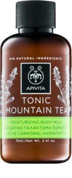 Apivita Body Tonic Bergamot & Green Tea tonizující mléko na tělo