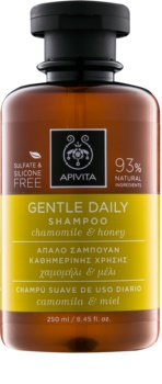 Apivita Holistic Hair Care Chamomile & Honey Sampon de curatare zi de zi.