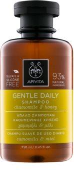 Apivita Holistic Hair Care Chamomile & Honey Shampoo für tägliches Waschen