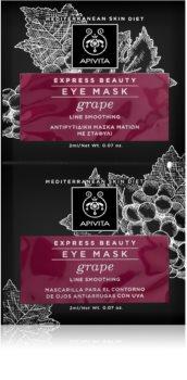 Apivita Express Beauty Grape изглаждата маска за околоочната зона