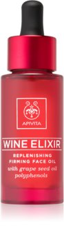 Apivita Wine Elixir Grape Seed Oil olje za učvrstitev za obraz