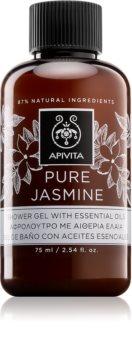 Apivita Pure Jasmine gel de douche aux huiles essentielles