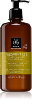 Apivita Chamomile & Honey Milt schampo för dagligt bruk