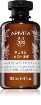Apivita Pure Jasmine gel de duche hidratante