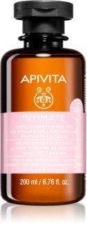 Apivita Intimate Care Chamomile & Propolis нежен гел за интимна хигиена за ежедневна употреба