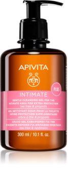 Apivita Intimate Care Tea Tree & Propolis гель для интимной гигиены успокаивающего действия