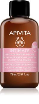 Apivita Intimate Care Chamomile & Propolis jemný gel na intimní hygienu pro každodenní použití