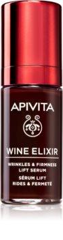 Apivita Wine Elixir Santorini Vine Lifting-Serum gegen Falten mit festigender Wirkung