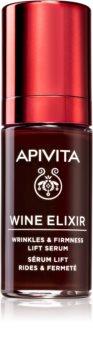 Apivita Wine Elixir Santorini Vine сироватка-ліфтінг проти зморшок зі зміцнюючим ефектом