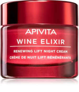 Apivita Wine Elixir Santorini Vine nährende Liftingcreme für die Nacht