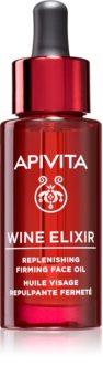 Apivita Wine Elixir Grape Seed Oil Anti-Falten-Gesichtsöl mit festigender Wirkung