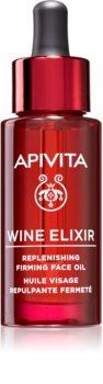 Apivita Wine Elixir Grape Seed Oil protivráskový pleťový olej se zpevňujícím účinkem