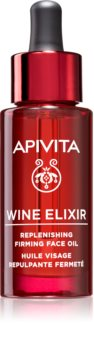 Apivita Wine Elixir Grape Seed Oil олійка проти зморшок для шкіри обличчя зі зміцнюючим ефектом