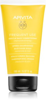 Apivita Holistic Hair Care Chamomile & Honey Conditioner zur täglichen Anwendung mit Kamille