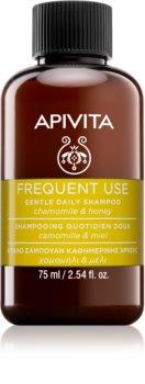 Apivita Frequent Use Chamomile & Honey шампоан за ежедневно миене на коса
