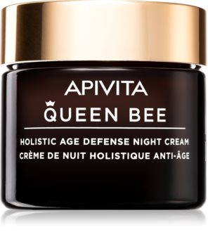 Apivita Queen Bee стягащ нощен крем против стареене на кожата