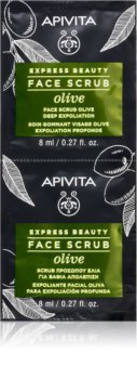 Apivita Express Beauty Olive intenzivni piling za čišćenje za lice