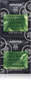 Apivita Express Beauty Cucumber intenzívne hydratačná pleťová maska